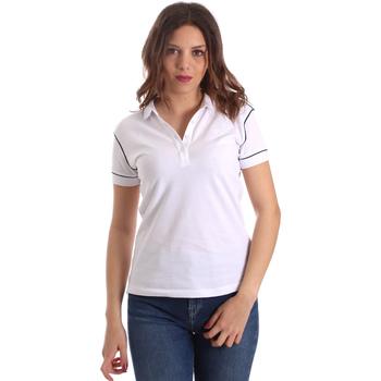 Abbigliamento Donna Polo maniche corte La Martina NWP002 PK001 Bianco