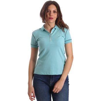 Abbigliamento Donna Polo maniche corte La Martina NWP002 PK001 Blu