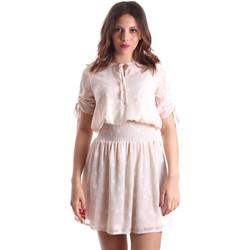Abbigliamento Donna Abiti corti Gaudi 911BD15006 Beige