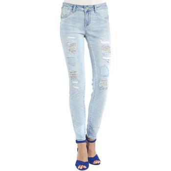 Abbigliamento Donna Jeans boyfriend Gaudi 911BD26013 Blu