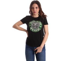 Abbigliamento Donna T-shirt maniche corte Gaudi 911BD64038 Nero