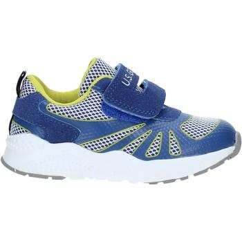 Scarpe Unisex bambino Sneakers U.s. Golf S19-SUK420 Blu