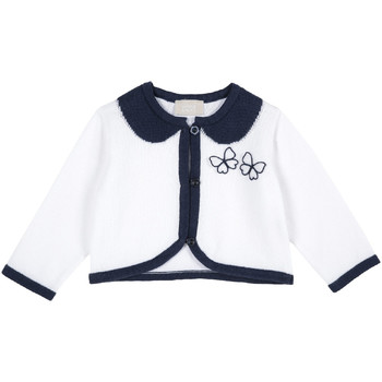 Abbigliamento Unisex bambino Gilet / Cardigan Chicco 09096803000000 Bianco