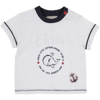 Abbigliamento Unisex bambino T-shirt maniche corte Chicco 09006679000000 Bianco