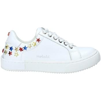 Scarpe Unisex bambino Sneakers basse Holalà HS0047L Bianco