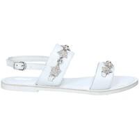 Scarpe Bambina Sandali Holalà HT0022L Bianco