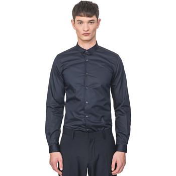 Abbigliamento Uomo Camicie maniche lunghe Antony Morato MMSL00596 FA400072 Blu