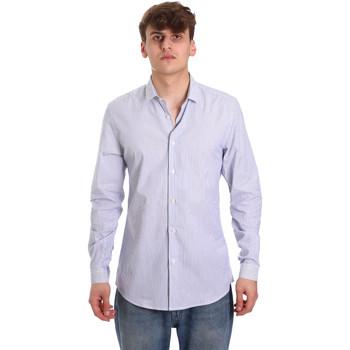Abbigliamento Uomo Camicie maniche lunghe Antony Morato MMSL00596 FA420090 Bianco