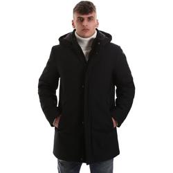 Abbigliamento Uomo Cappotti Navigare NV68081 Nero