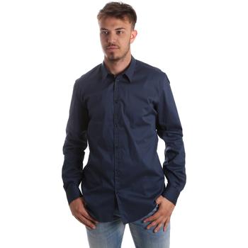 Abbigliamento Uomo Camicie maniche lunghe Gaudi 921FU45014 Blu