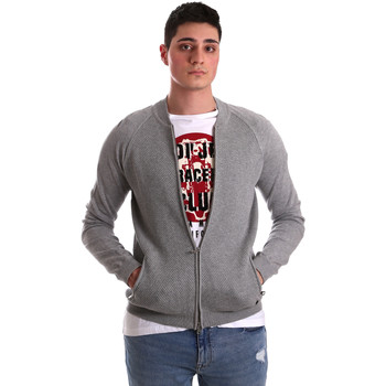 Abbigliamento Uomo Gilet / Cardigan Gaudi 921BU53015 Grigio