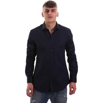 Abbigliamento Uomo Camicie maniche lunghe Gaudi 921BU45001 Blu