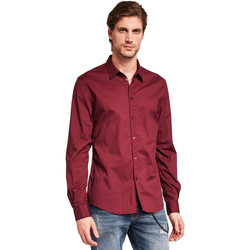 Abbigliamento Uomo Camicie maniche lunghe Gaudi 921BU45008 Rosso