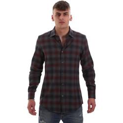 Abbigliamento Uomo Camicie maniche lunghe Antony Morato MMSL00548 FA410091 Grigio