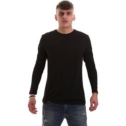 Abbigliamento Uomo T-shirts a maniche lunghe Antony Morato MMKL00264 FA100066 Nero