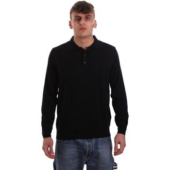 Abbigliamento Uomo Polo maniche lunghe Navigare NV11006 40 Blu
