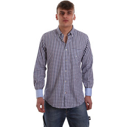 Abbigliamento Uomo Camicie maniche lunghe Navigare NV91072 BD Blu