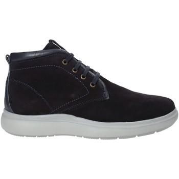 Scarpe Uomo Sneakers alte Impronte IM92016A Blu