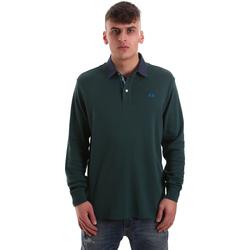Abbigliamento Uomo Polo maniche lunghe La Martina OMP007 JS169 Verde