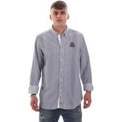 Abbigliamento Uomo Camicie maniche lunghe La Martina OMC021 PP472 Bianco