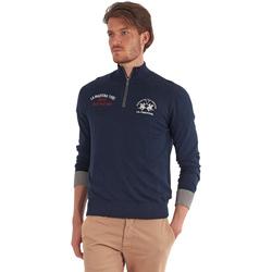 Abbigliamento Uomo Maglioni La Martina OMS317 YW025 Blu