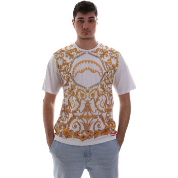 Abbigliamento Uomo T-shirt maniche corte Sprayground SP019S Bianco