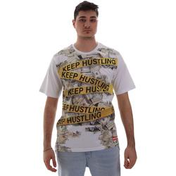 Abbigliamento Uomo T-shirt maniche corte Sprayground SP017S Bianco