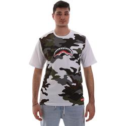 Abbigliamento Uomo T-shirt maniche corte Sprayground SP023S Bianco