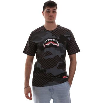 Abbigliamento Uomo T-shirt maniche corte Sprayground SP018SBLA Nero
