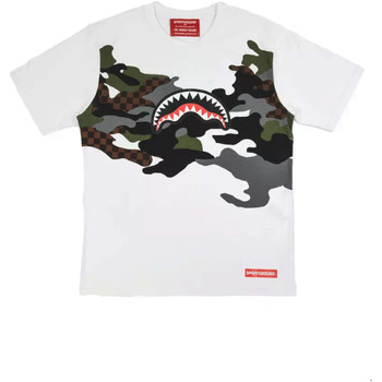 Abbigliamento Uomo T-shirt maniche corte Sprayground SP022S Bianco