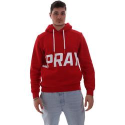 Abbigliamento Uomo Felpe Sprayground 19AISP006 Rosso