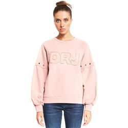 Abbigliamento Donna Felpe Denny Rose 921ND64018 Rosa