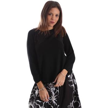Abbigliamento Donna Maglioni Fracomina FR19FP8117 Nero