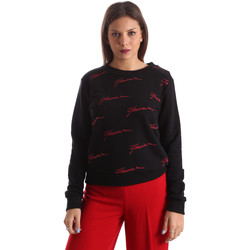 Abbigliamento Donna Felpe Fracomina FR19FP961 Nero