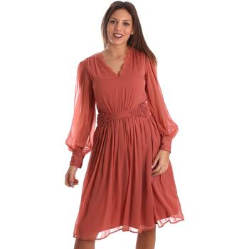 Abbigliamento Donna Abiti corti Fracomina FR19FMREMI Rosa