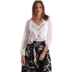 Abbigliamento Donna Camicie Fracomina FR19FMFLORRIE Bianco