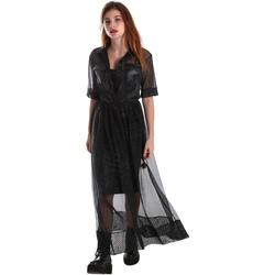 Abbigliamento Donna Abiti lunghi Fracomina FR19FM567 Nero