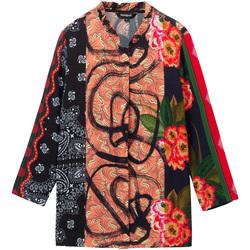 Abbigliamento Donna Camicie Desigual 19WWCW11 Nero