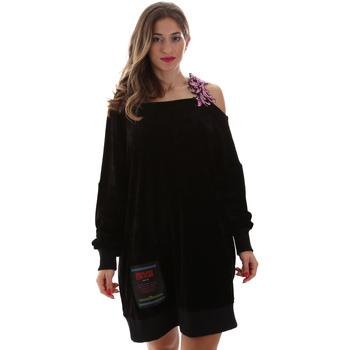 Abbigliamento Donna Abiti corti Versace B6HUB77011684899 Nero