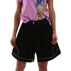 Abbigliamento Donna Gonne Versace A9HUB301APD3W899 Nero
