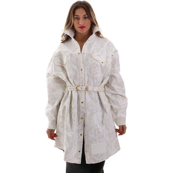 Abbigliamento Donna Giacche Versace D2HUB445HRC43003 Bianco