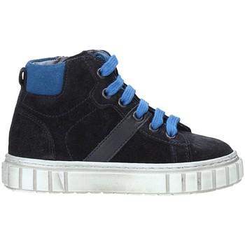 Scarpe Unisex bambino Sneakers alte Nero Giardini A923700M Blu