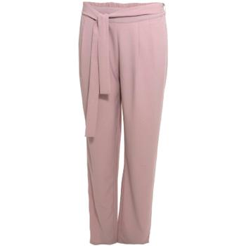 Abbigliamento Donna Pantaloni morbidi / Pantaloni alla zuava Smash S1829415 Rosa