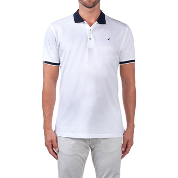 Abbigliamento Uomo Polo maniche corte Navigare NV72058 Bianco