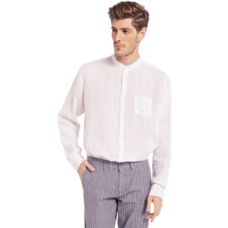 Abbigliamento Uomo Camicie maniche lunghe Gaudi 011BU45001 Bianco