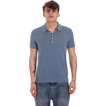 Abbigliamento Uomo Polo maniche corte Gaudi 011BU53011 Blu