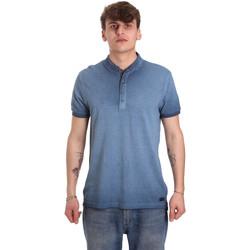 Abbigliamento Uomo Polo maniche corte Gaudi 011BU64018 Blu