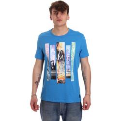 Abbigliamento Uomo T-shirt maniche corte Gaudi 011BU64028 Blu
