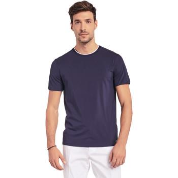 Abbigliamento Uomo T-shirt maniche corte Gaudi 011BU64087 Blu