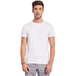 Abbigliamento Uomo T-shirt maniche corte Gaudi 011BU64093 Bianco
